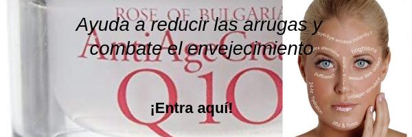 Q10 CREMA ANTIARRUGAS ROSA DE BULGARIA